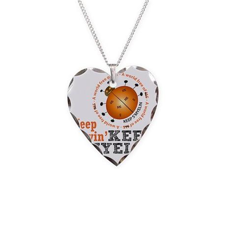 10x10_MSsmile4 Necklace Heart Charm