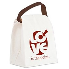 Love is the Point2big Canvas Lunch Bag