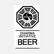 Dharma Beer Decal