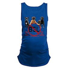 stop_bsl_trans2 Maternity Tank Top