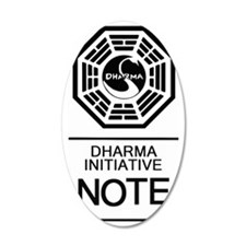 Dharma Note Wall Decal