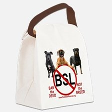 stop_bsl_trans2 Canvas Lunch Bag