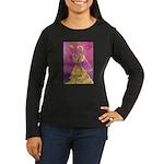 Skeletal Flamenco Womens Long Sleeve Dark T-Shirt