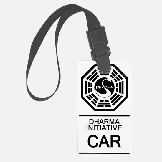 Dharma Car Luggage Tag
