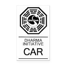 Dharma Car Rectangle Car Magnet