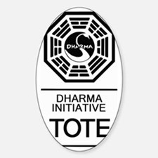Dharma Tote Decal