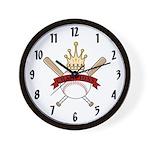 Baseball / Softball Champions Team Wall Clock