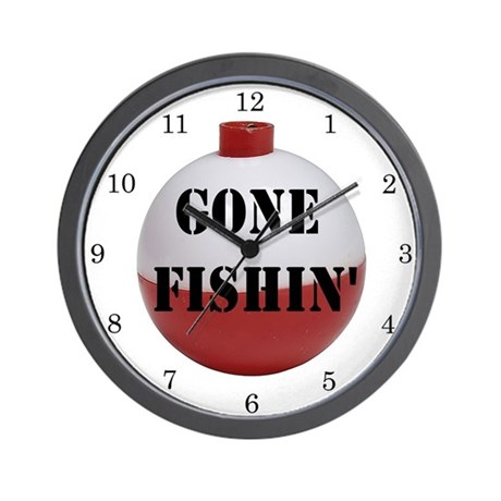 gone fishing home decor wall clock by islandvintage rustic fishing home decor american expedition