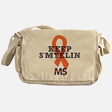 10x10_MSsmile6 Messenger Bag