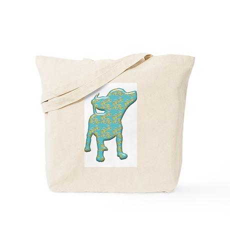 Paisley Chihuahua Tote Bag