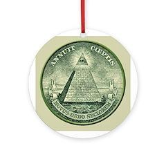 Masonic Seal Ornament (Round)