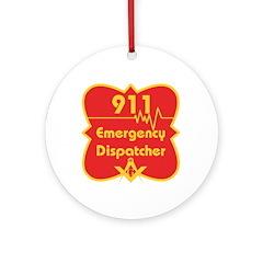 Masonic 911 Dispatcher Ornament (Round)