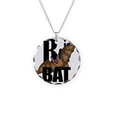 B is for Bat! Necklace