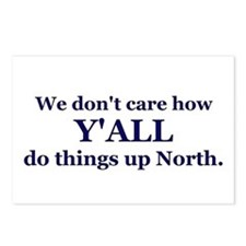 Y'all up North Postcards (Package of 8)