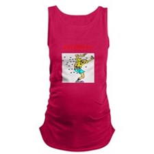 zombies Maternity Tank Top