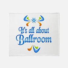 About Ballroom Throw Blanket