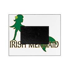 Irish Mermaid White Picture Frame