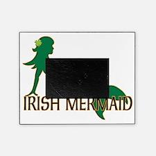 Irish Mermaid White Crop Picture Frame