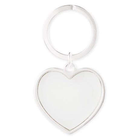 NYgot_10x10_apparel_white Heart Keychain