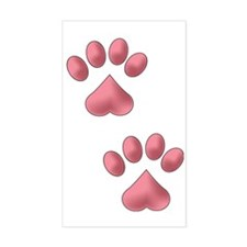 Two Paws Decal