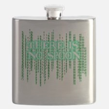 Matrix shirt - There Is No Spoon Flask