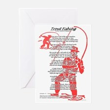 fishing_poem_50s_style Greeting Card