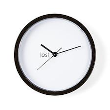 Lost Eternal OOPS for Black Wall Clock