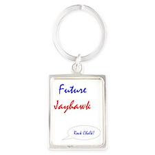FutureJayhawk2 Portrait Keychain