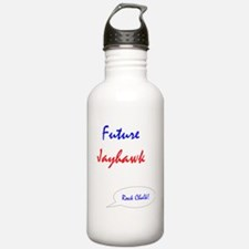 FutureJayhawk2 Water Bottle
