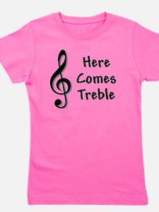 Treble-Black.GIF Girl's Tee