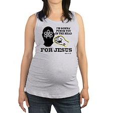 2-punch4jesus Maternity Tank Top