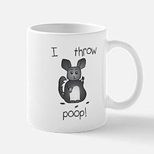 I Throw Poop Mugs