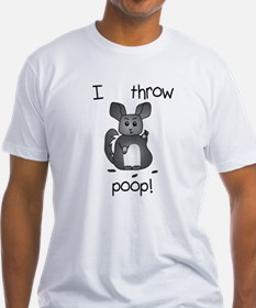 I Throw Poop T-Shirt