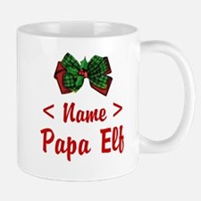 Personalized Papa Elf Mug