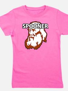Spooner_whiteFront Girl's Tee