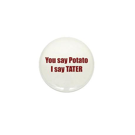 Potato Tater Mini Button