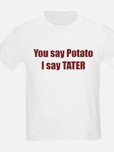Potato Tater Kids T-Shirt