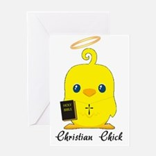 christian chick Greeting Card