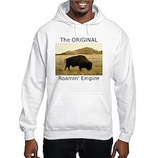 bisonabwhite Hoodie Sweatshirt