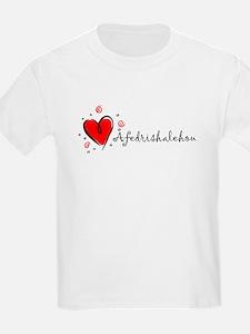 """I Love You"" [Amharic] Kids T-Shirt"