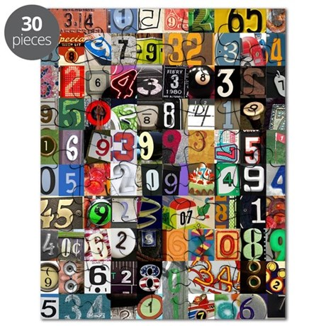 Places of Pi Thumb Puzzle