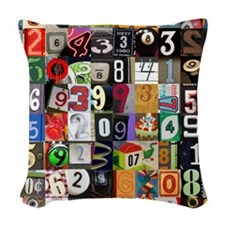 Places of Pi Thumb Woven Throw Pillow