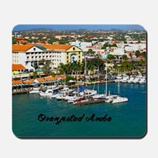 Oranjestad Marina Aruba Mousepad