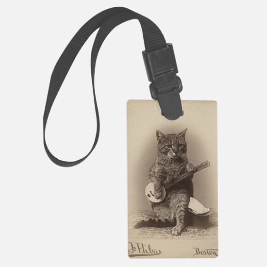 Cat_tee Luggage Tag