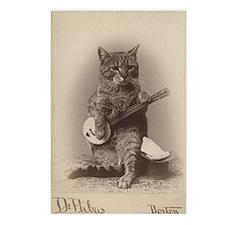 Cat_tee Postcards (Package of 8)