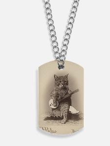 Cat_tee Dog Tags