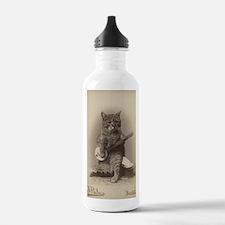 Cat_tee Water Bottle