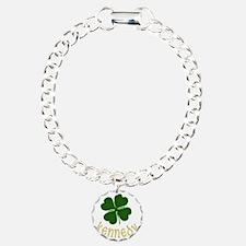 kennedy Charm Bracelet, One Charm