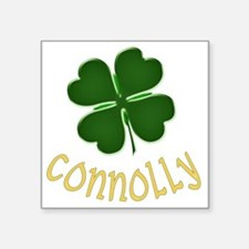 "connolly Square Sticker 3"" x 3"""