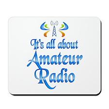 About Amateur Radio Mousepad